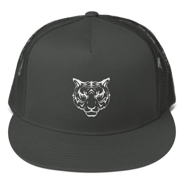 SHOPPE AESTHETICS Fearless Tiger Mesh Back Snapback - shoppe-aesthetics