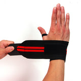 Barbell Straps Wraps Wrist Support Hand Protection - shoppe-aesthetics