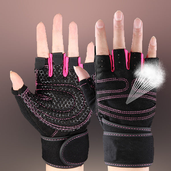 Half Finger Gym Gloves - shoppe-aesthetics