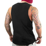 Muscle Guy Fitness Sleeveless T-Shirt (Black) - shoppe-aesthetics