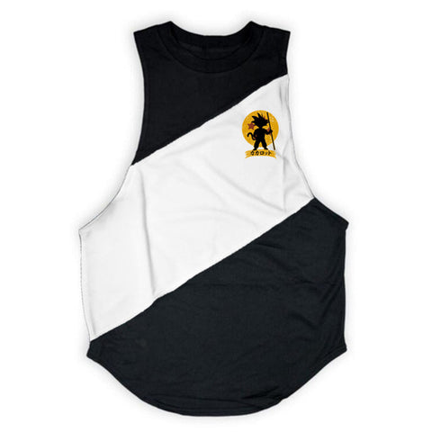 Dragon Ball Tank Top (Black & White) - shoppe-aesthetics