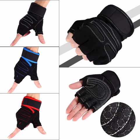 Half Finger Anti-skid Gym Gloves