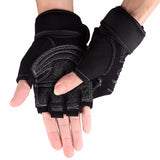 Half Finger Anti-skid Gym Gloves - shoppe-aesthetics