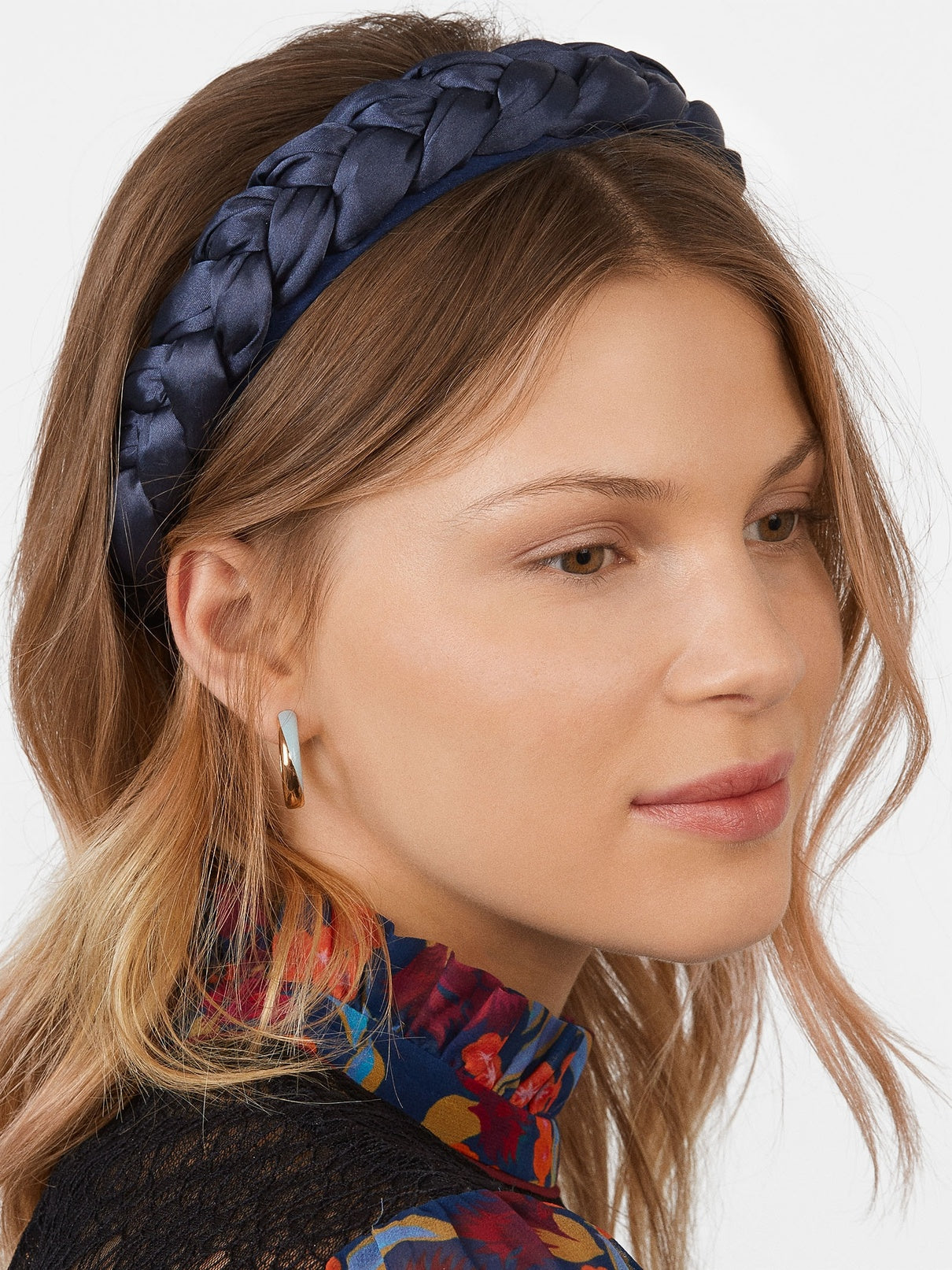 Satin Braided Headband