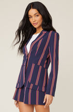 Load image into Gallery viewer, Striped Blazer