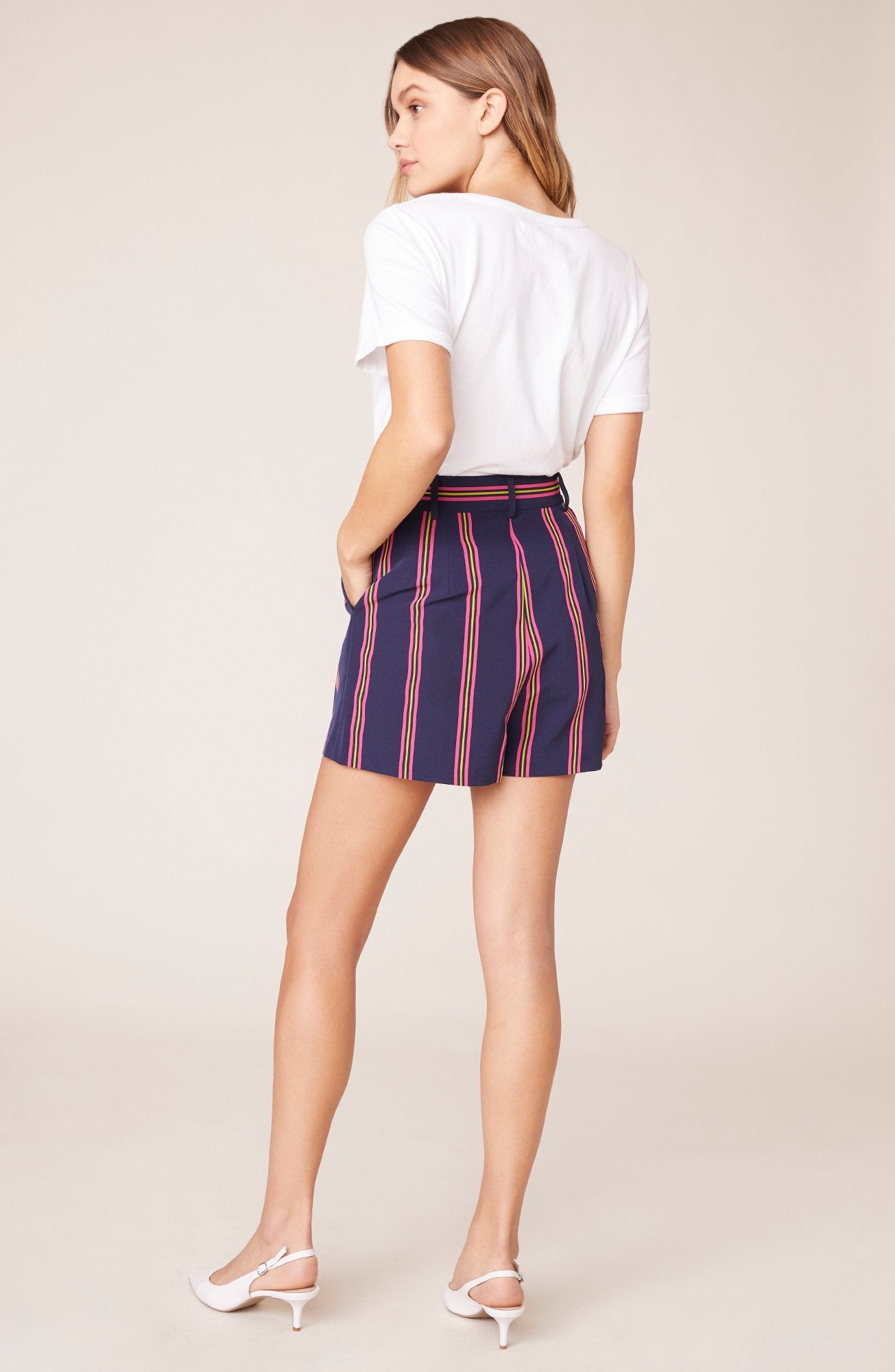 Striped Suiting Short