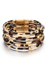 Load image into Gallery viewer, Leopard Wrap Cuff