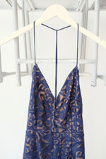Printed Silky Slip Dress