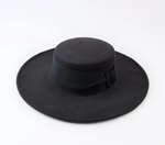 Load image into Gallery viewer, Flat Brim Boater Hat