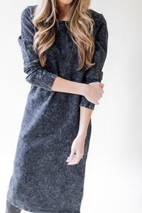 Jenna Marbled Midi Dress