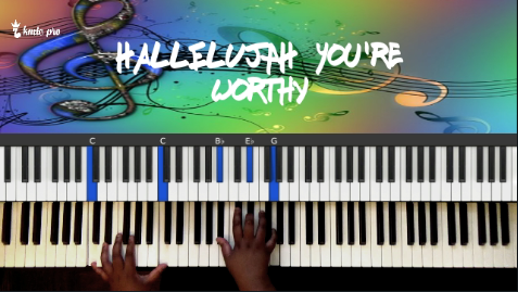 Hallelujah You're Worthy - Judith McCallister version - members only - Kingdom Music Training Center Pro