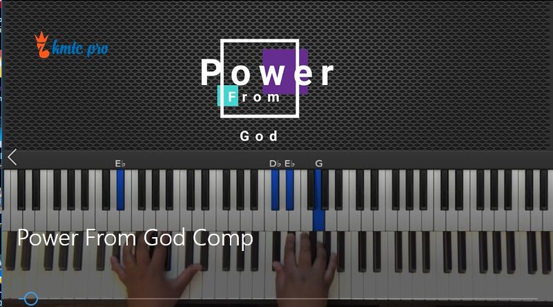 Power From God - Keith Dobbins and Resurrection Mass. version - members only - Kingdom Music Training Center Pro