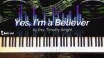 Yes I'm a Believer - Kingdom Music Training Center Pro