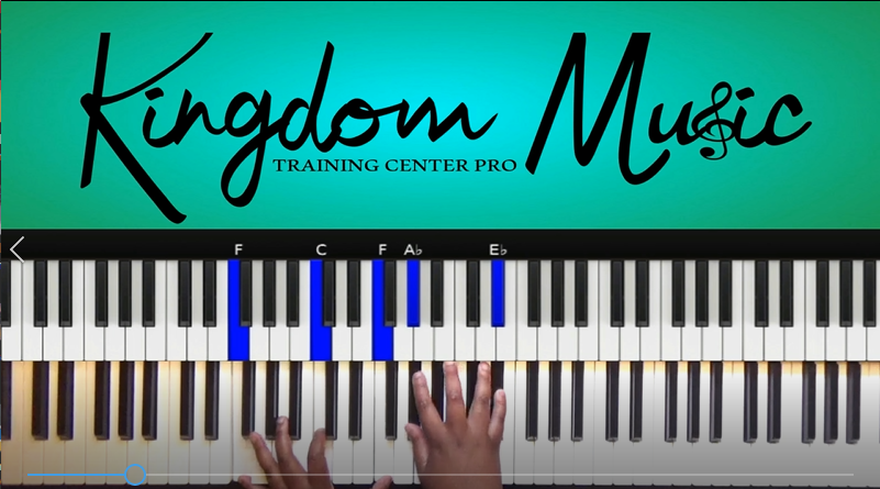 Fill Me Up (Tasha Cobbs version) - Kingdom Music Training Center Pro