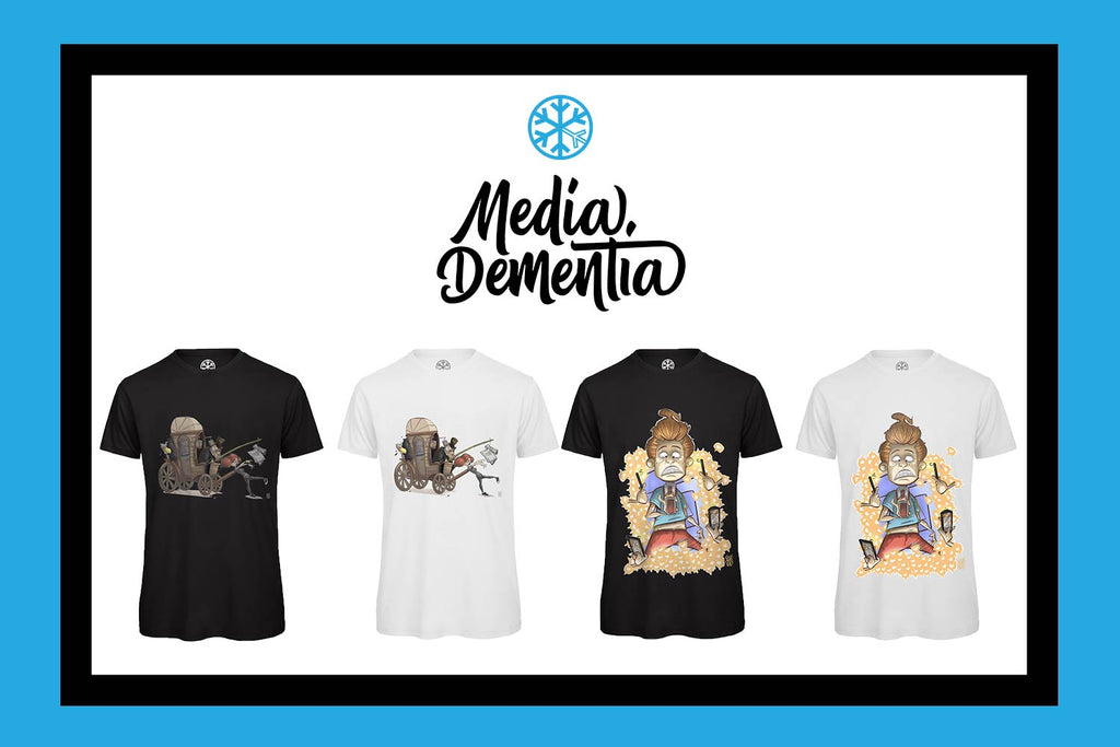 t-shirts media dementia limited edition bdifferent clothing independent streetwear street art boris bobz