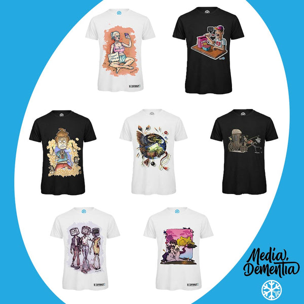 t-shirts media dementia limited edition collection bdifferent clothing independent streetwear street art graffiti