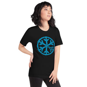 T-shirt sober snowflake tee black bdifferent clothing independent streetwear street art graffiti woman limited edition