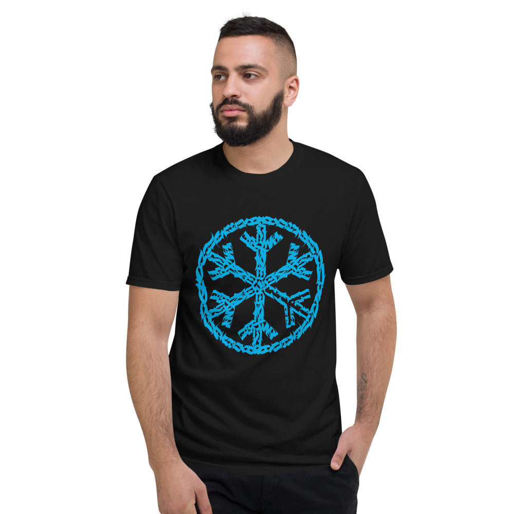 T-shirt sober snowflake tee black man bdifferent clothing independent streetwear street art graffiti limited edition