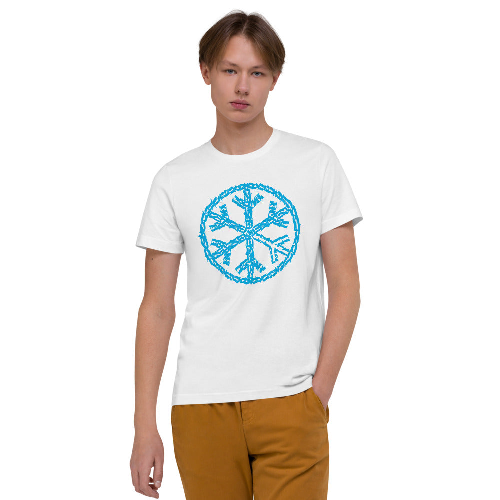 T-shirt sober snowflake tee white bdifferent clothing independent streetwear street art graffiti men limited edition