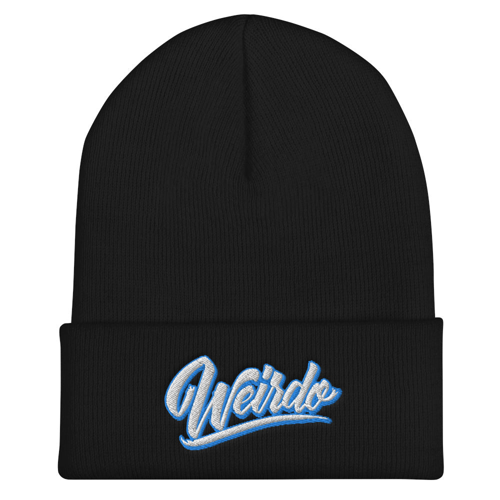 beanie weirdo black bdifferent clothing independent streetwear street art graffiti