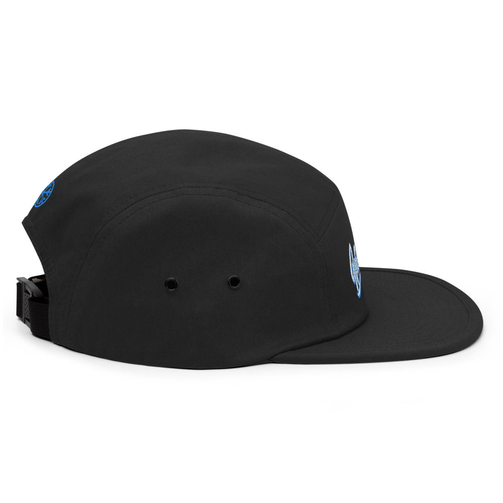 snapback 5 panel weirdo black bdifferent clothing independent streetwear street art graffiti side