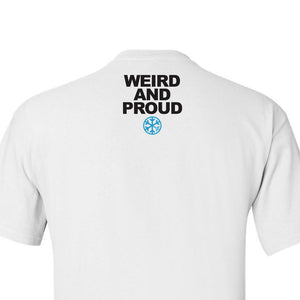 graphic t-shirt #weirdo tee bdifferent clothing limited edition independent streetwear street art back