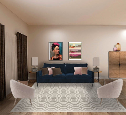 design, lounge, layout, navy velvet