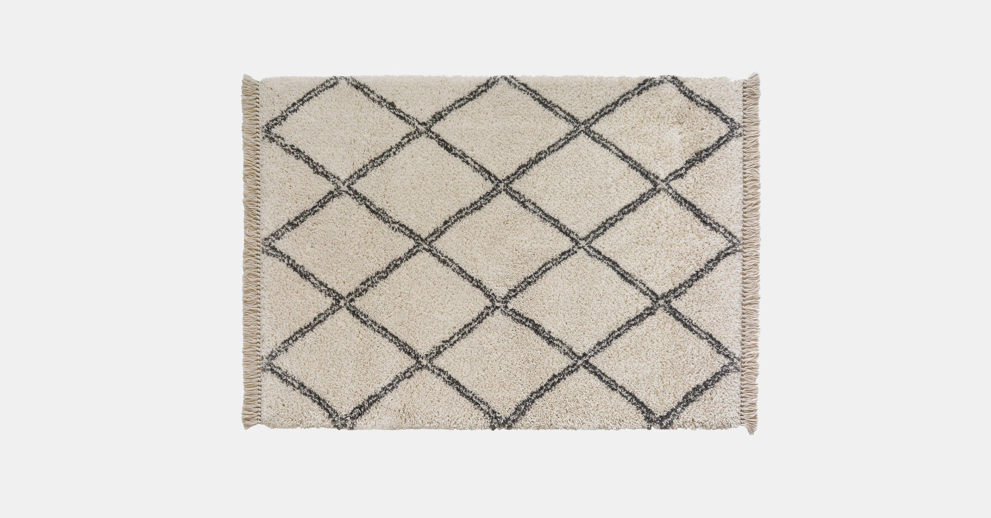 Reza berber style rug, natural | Rugs by housecosy