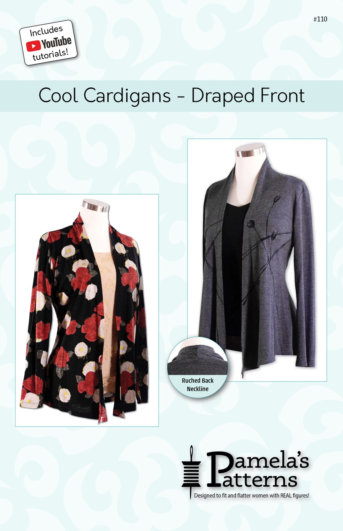 #110 - Cool Cardigan Draped Front