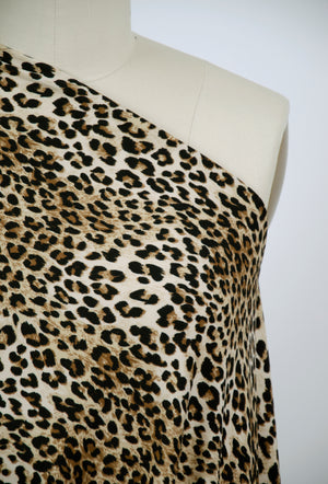 Scuba Crepe Knit - Animal Print