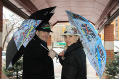 Broadway & City Girl New York Umbrellas
