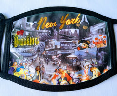 Brooklyn Memories Mask