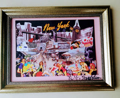 Brooklyn Memories Framed Art