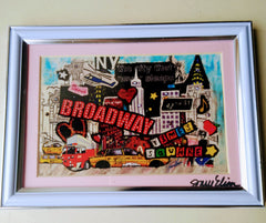 Broadway Framed Art