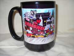 Broadway New York Mug