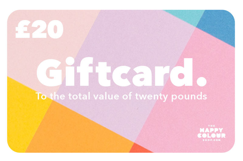 Gift Card - The Happy Colour Shop