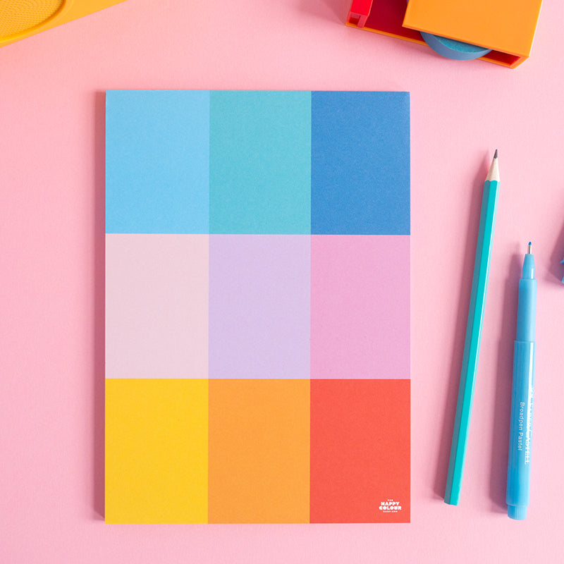 To-Do Grid Notepad - The Happy Colour Shop