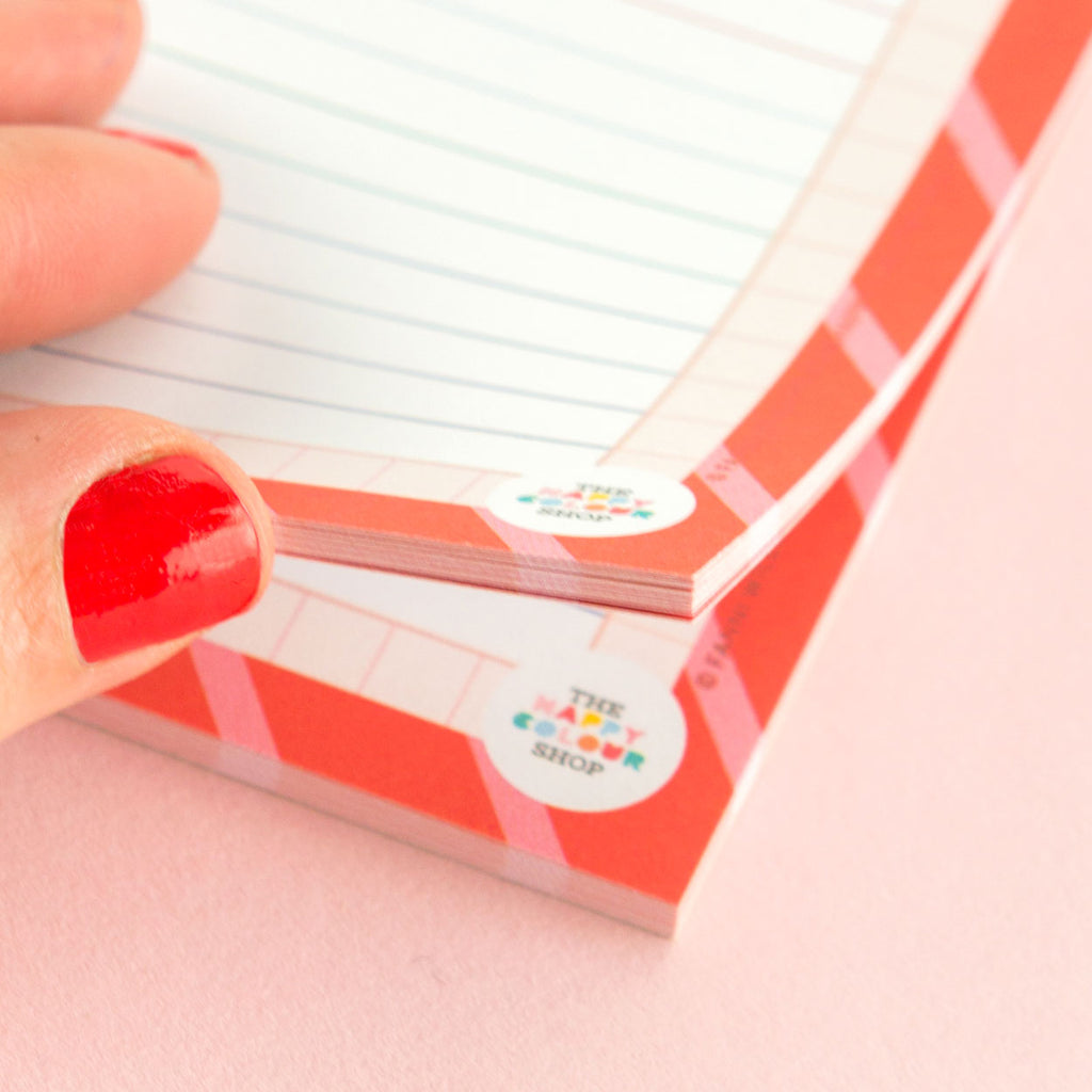 Appointments Notepad - The Happy Colour Shop
