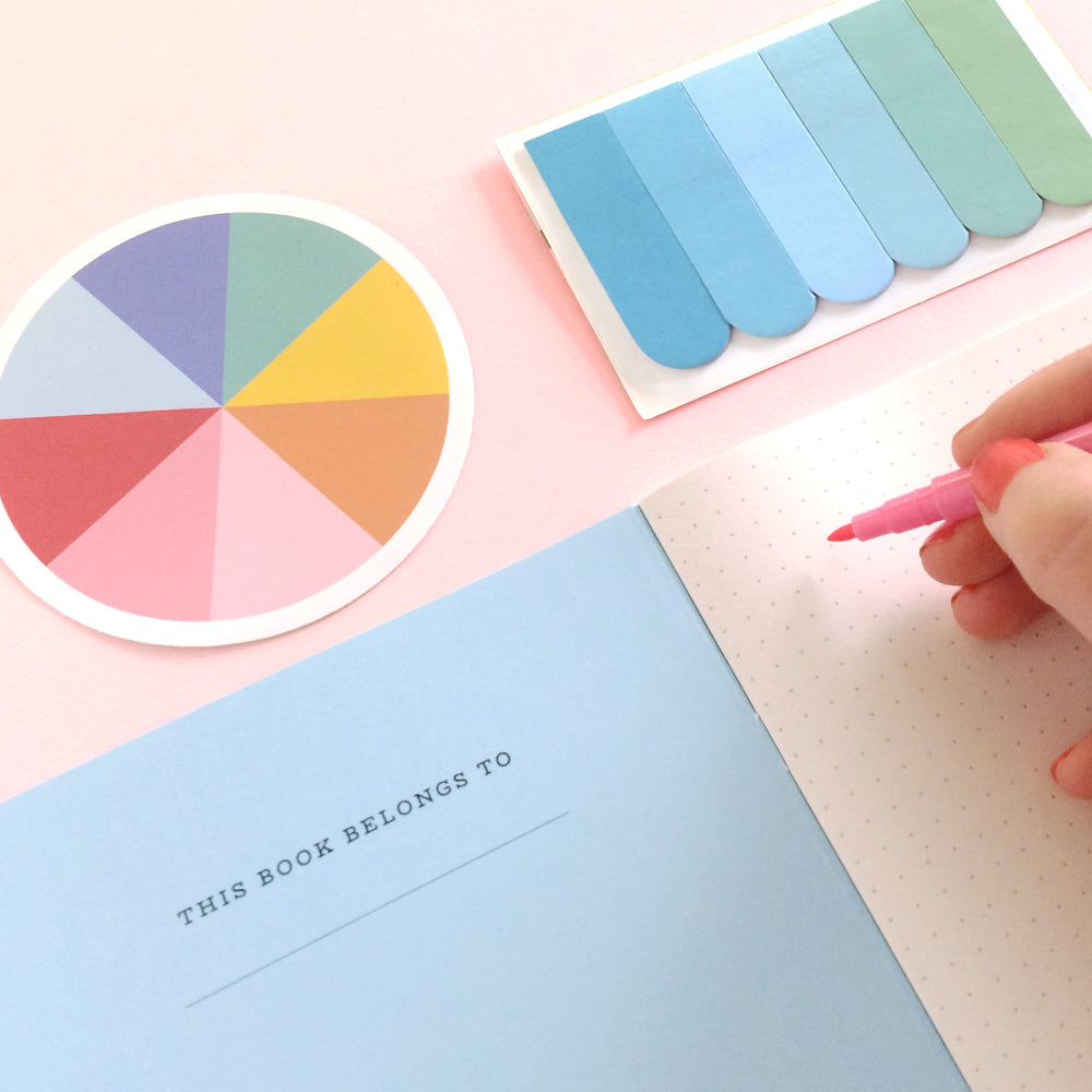 Rock Your Superpower Notebook - The Happy Colour Shop