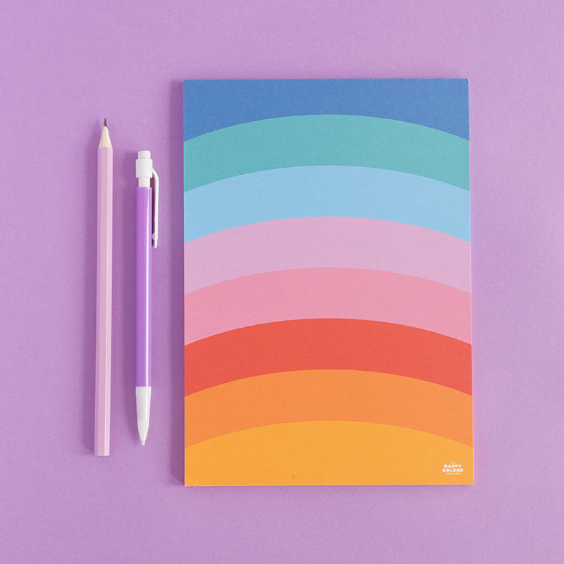 Rainbow To-Do Notepad - The Happy Colour Shop