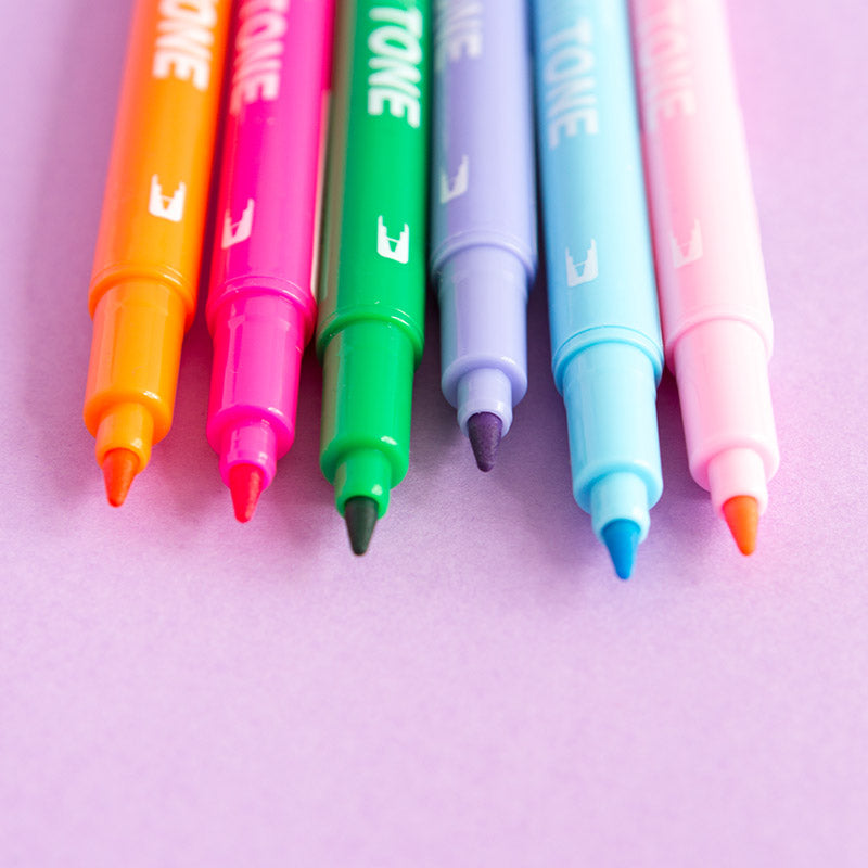 Tombow TwinTone Marker Pens - The Happy Colour Shop