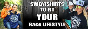Race Hoodies for Men, Women, Youth