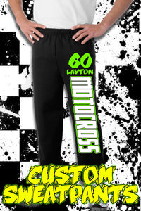 Custom Moto ID SweatPants - Defiance Lifestyle, Race Apparel - Casual to Custom