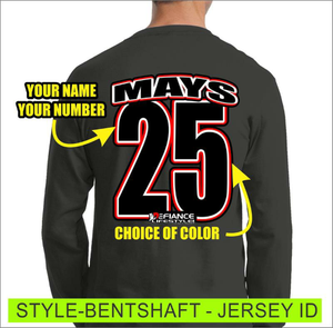Bent Shaft - Jersey Lettering - Defiance Lifestyle, Race Apparel - Casual to Custom