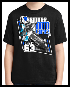 Custom T-Shirt - Coming for you - dirtbike - Defiance Lifestyle, Race Apparel - Casual to Custom