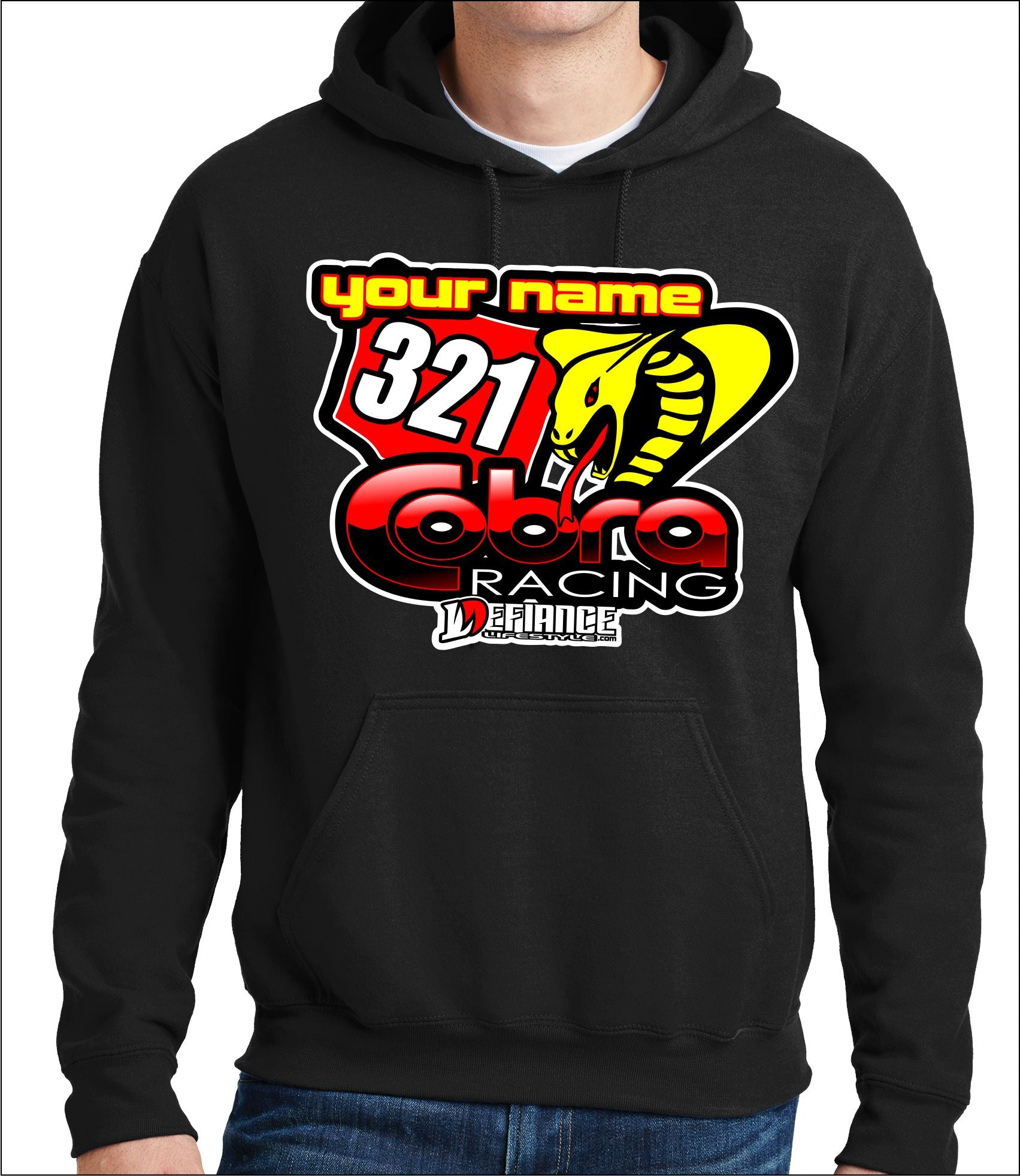 Cobra National Support sweatshirt - Defiance Lifestyle, Race Apparel - Casual to Custom