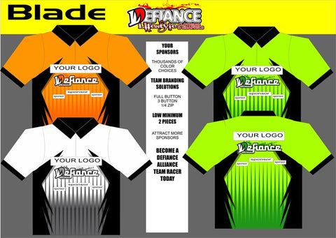 Blade Polo Semi Custom - Defiance Lifestyle, Race Apparel - Casual to Custom