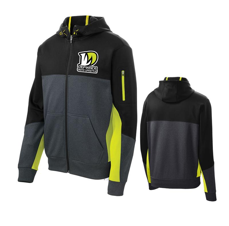 Defiance Corporate Future Full zip Hooded - flow - Defiance Lifestyle, Race Apparel - Casual to Custom