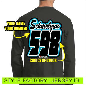 Factory - Jersey Lettering - Defiance Lifestyle, Race Apparel - Casual to Custom