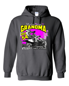 Custom sweatshirt - Moto Grandma - Defiance Lifestyle, Race Apparel - Casual to Custom